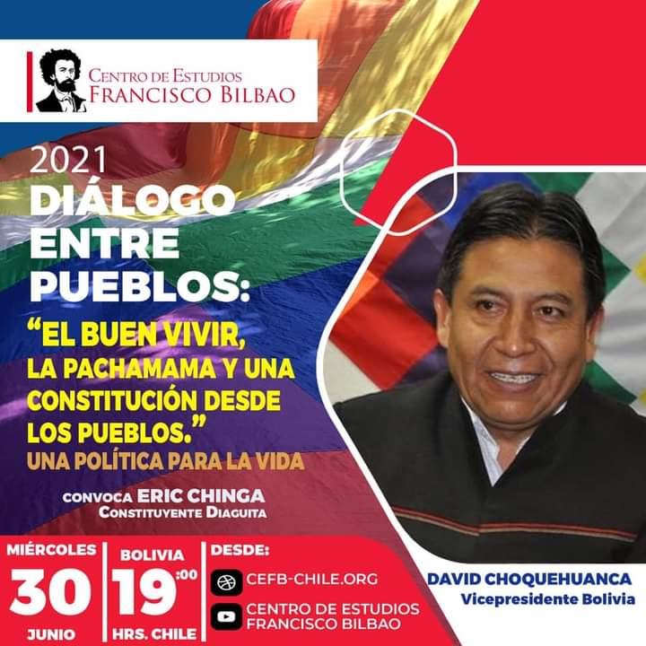 Diálogo entre pueblos: El buen vivir, la pachamama y una constitución desde los pueblos con David Choquehuanca