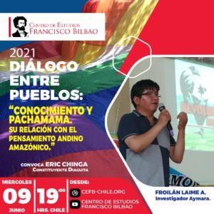 Diálogo entre pueblos: Conocimiento y la pachamama, su relación con el pensamiento andino amazónico, expone Froilán Laime