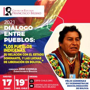 Diálogo entre pueblos: Los pueblos indígenas y su relación con el estado con Félix Cárdenas