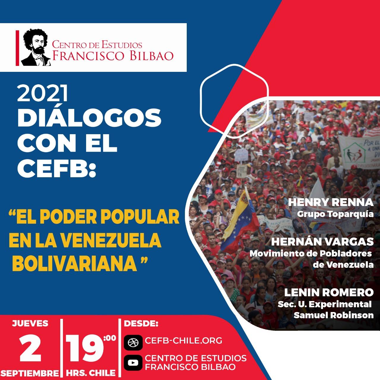 Diálogos con el CEFB: El Poder Popular en la Venezuela bolivariana.